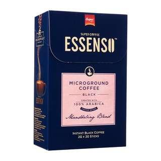 ESSENSO MICROGROUND BLACK COFFEE - MANDHELING BLEND