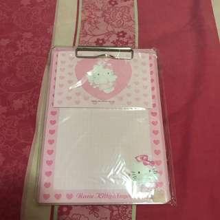 Hello Kitty Memo Pad 信紙