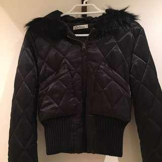 [REDUCED] LOLITTA QUILTED CROPPED JACKET WITH HOOD AUS 6