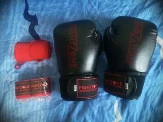 🚚 Muay Thai Gloves & Wraps