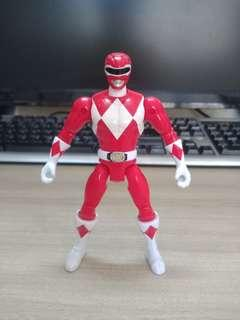 Bandai Mighty Morhpin Power Rangers Red Ranger Action Figure (MMPR)