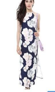 裙子long dress MDS size M