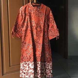 Dress Batik Wanita Panjang