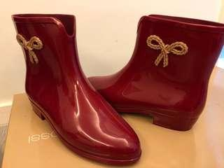 #大特價 Melissa Red Rain Boots Size35,36