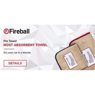 Fireball Range of Towels