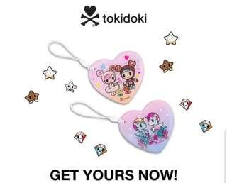 BNIB Limited Edition Tokidoki Donutella Ezlink Charm