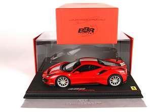 全新BBR 1/18 Ferrari 488 Pista
