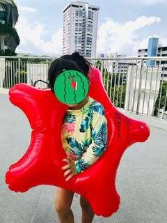 """🚚 Super cute Kid """"star shape"""" swim ring (bought from Japan)"""