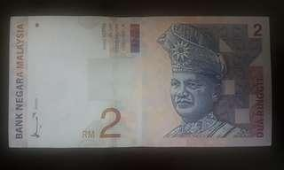 RM 2 Banknote