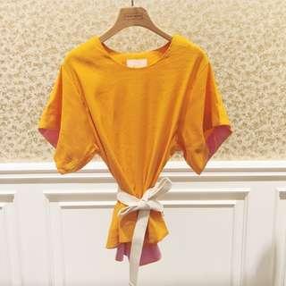 Plain kimono blouse