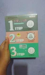 masker komedo 3 step