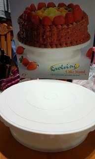 蛋糕轉盤 revolving cake stand