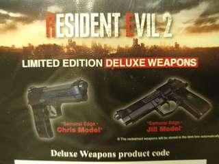 Resident Evil 2 Weapon DLC