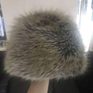 Ca4la faux fur hat dari japan