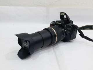 NIKON D5100 with 18-270mm