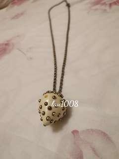 🍓 Kenneth Jay Lane Strawberry Necklace