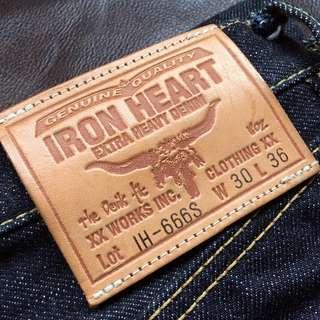 Iron Heart - W30 18oz Redline RRL 日牛 Take5 LVC Workware 501