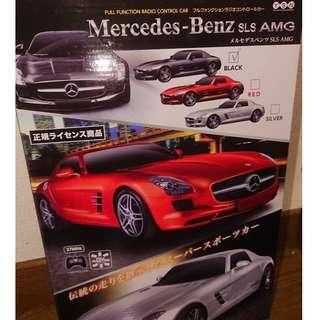 平治 遙控車 - RC Mercedes Benz SLS AMG flat II