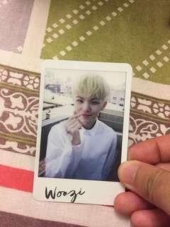 Woozi photocard