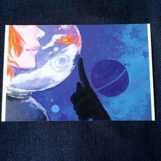 🚚 Space Dreaming Original Postcard anime