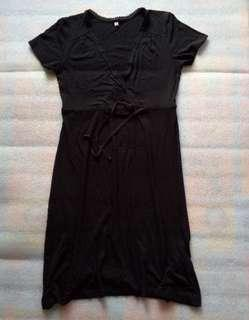Uniqlo Black Dress