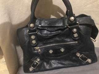 Balenciaga Giant - Inspired Leather  bag