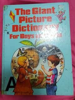 The Picture Dictionary For Boys And Girls