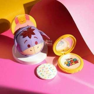 🚚 Disney X Cathy doll 限量聯名款CC粉餅+ tsum tsum 小豬娃娃粉餅套 21明亮色 韓國彩妝代購 ZA Maybellin Kate innisfree the face shop