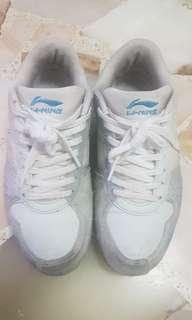 Lining fencing shoe