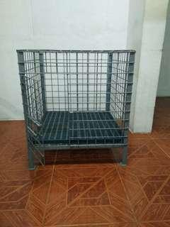 RUSH! DOG CAGE WITH FLOORING