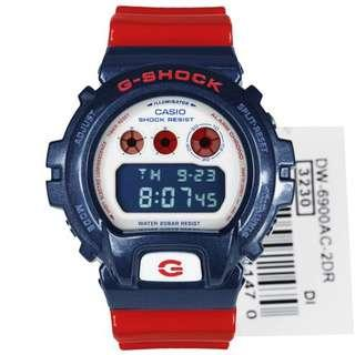 G-SHOCK DW6900 CAPTAIN AMERICA Edition