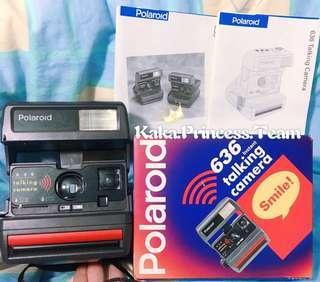 寶麗萊 Polaroid 636 可錄音 即影即有 Talking Camera