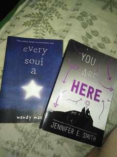 380 pesos for two Young Adult Books