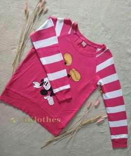 Uniqlo UT x Disney Pink Sweatshirt