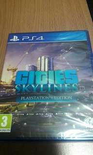 PS4 全新 CITIES SKYLINES
