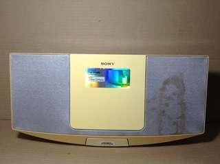 SONY iPod/iPhone Music Player Dock (CD, FM/AM, Aux) with Remote Control
