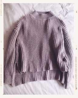 Dusty Pink Knitwear