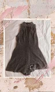 Topshop sparkly Playsuit