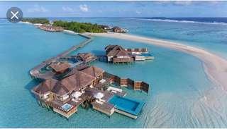 Conrad Maldives Rangali Island more than 80% off.