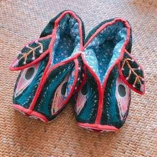 豬年中式嬰兒鞋