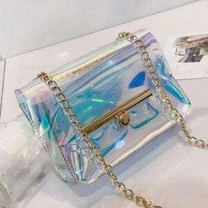 🚚 [🔥HOT SELLING🔥] KOREAN SMALL HOLOGRAPHIC SLING BAG