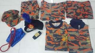 Uniform Kadet Bomba & Penyelamat