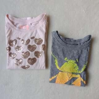 LAST DAY SALE - Cotton On Kids | Set of 2 Longsleeves Shirts, 2T