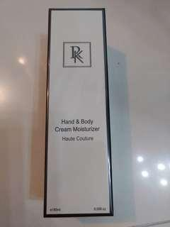 RK hand & body cream moisturizer haute couture