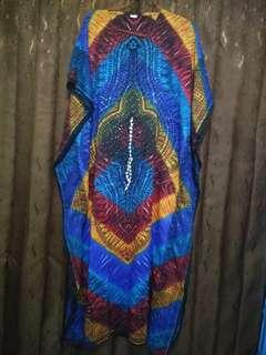 Kaftan baru 2 kali pakai beli di toko india Thamcit
