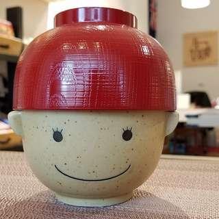 日本SUNART滿福娘湯飯碗組(まんぷく 娘の 茶碗と椀)