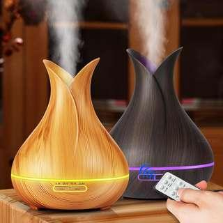 Aroma Diffuser with Remote - 400ml (Raminelia)