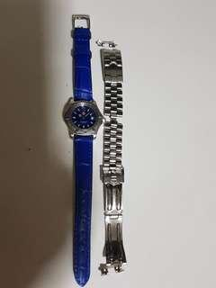 Tag Heuer Classic Lady watch (leather & metal strap)