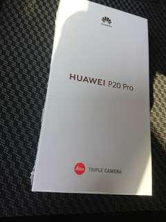 Huawei P20 Pro Black New