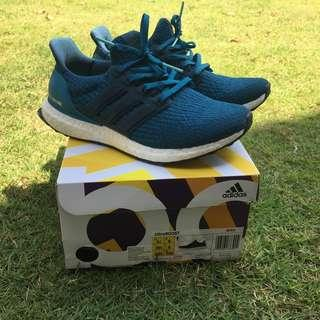 Adidas Ultra Boost petrol night